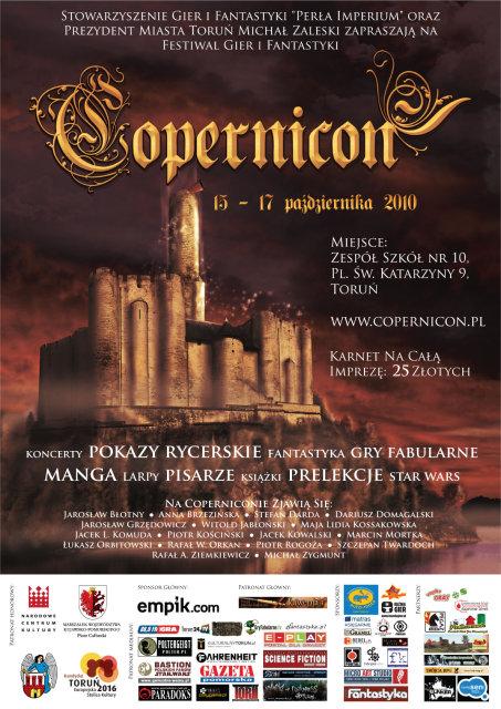Copernicon 2010 Plakat I Wieści Informator Konwentowy