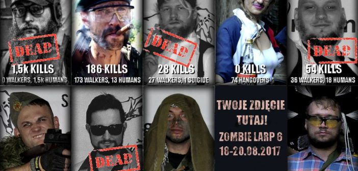 Zombie LARP – konkurs